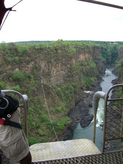 The View from the Victoria Falls Bridge