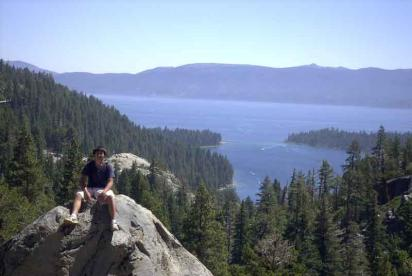 Nathan May at Emerald-Bay, South Lake Tahoe