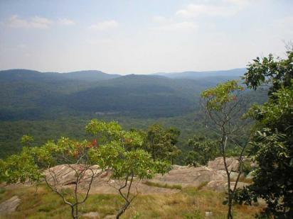Top View from Perpendicular in Harriman State Park