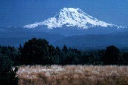 Mount Rainier as Seen From a Distance (Image the view from the top!)