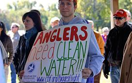 Anglers Need Clean Water (source: Chesapeake Bay Foundation)