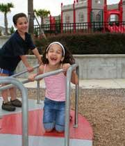Kids Having Fun at Playground