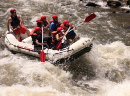 Whitewater rafting, rapids and thrills!