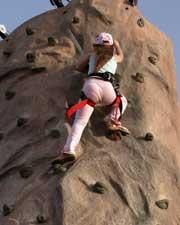 Rockwall Climbing Playground Exercise for Adults