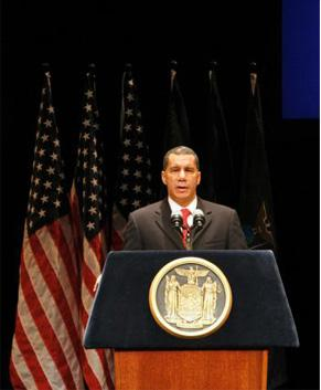 Governor Paterson Delivered a Speech in which he proposed this plan.