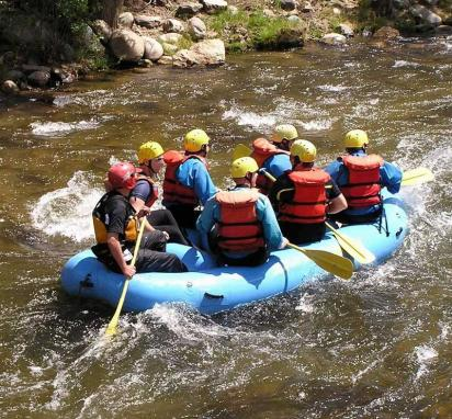 Class 1 Rapids on Clear Creek, Idaho Springs, CO