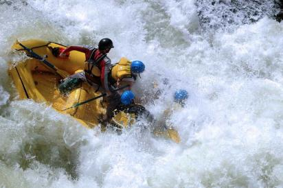 Class 5 Whitewater Rapids, Colorado River, Gore Canyon